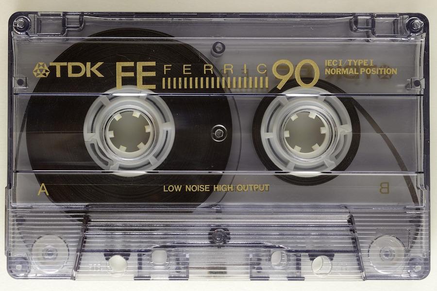 カセットテープと劣化