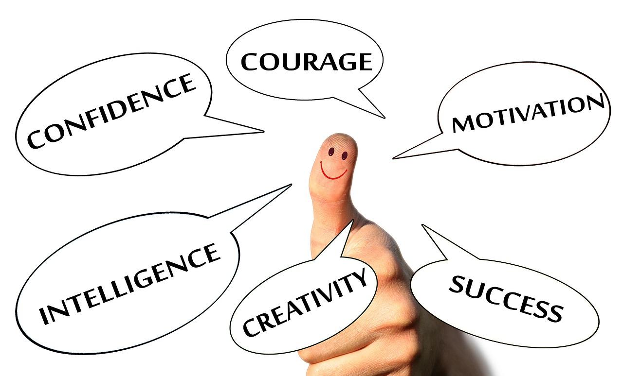 自信を持つ